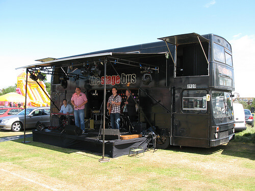 The stage bus